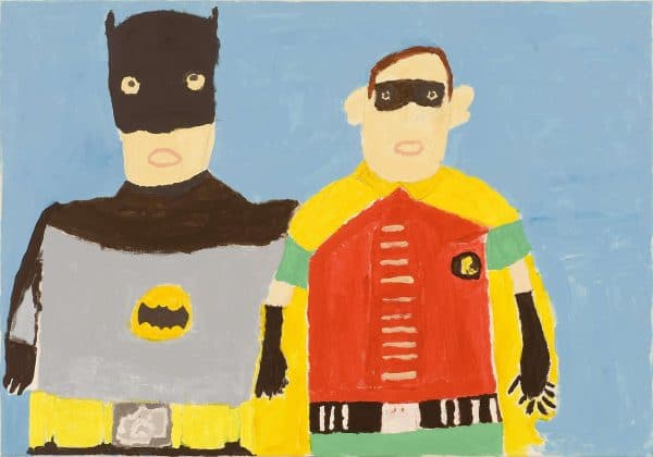 BATMAN AND ROBIN JOHN CROFT