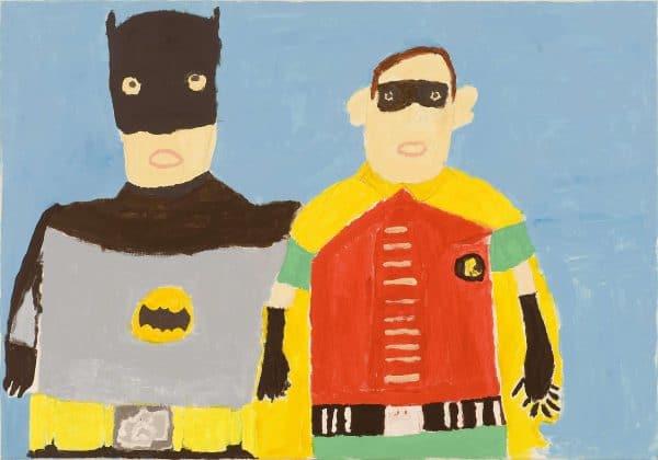 BATMAN AND ROBIN JOHN CROFT