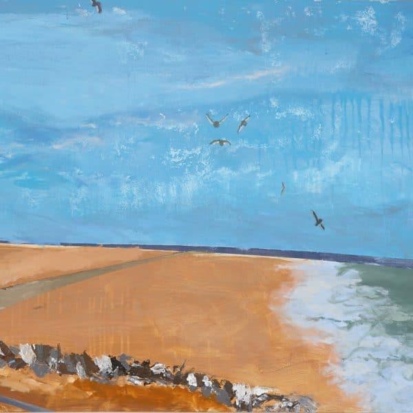 W2836 Hastings Seascape Charlotte Stephens