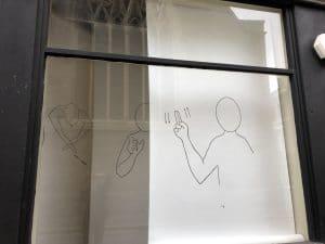 Claremont window - makaton