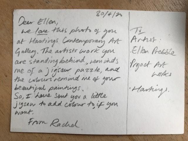 Ellen Prebble - postcard