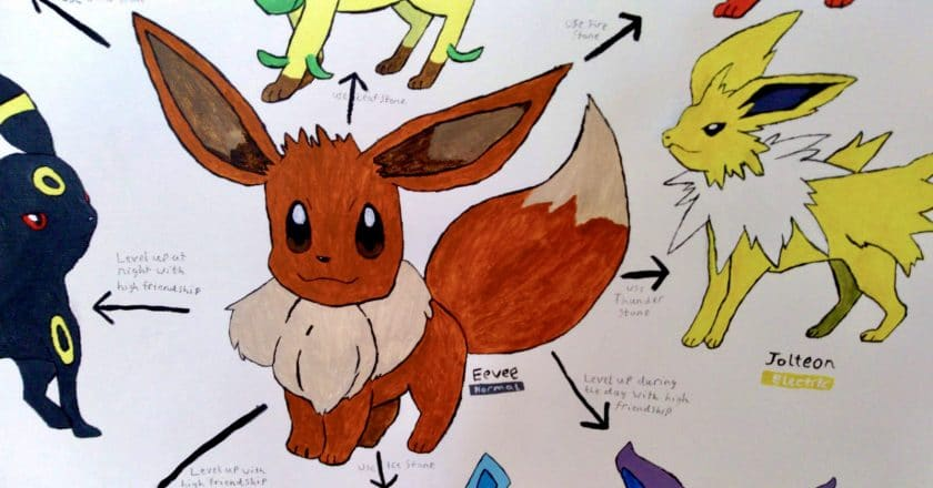 Ellen's Pokemon Drawings