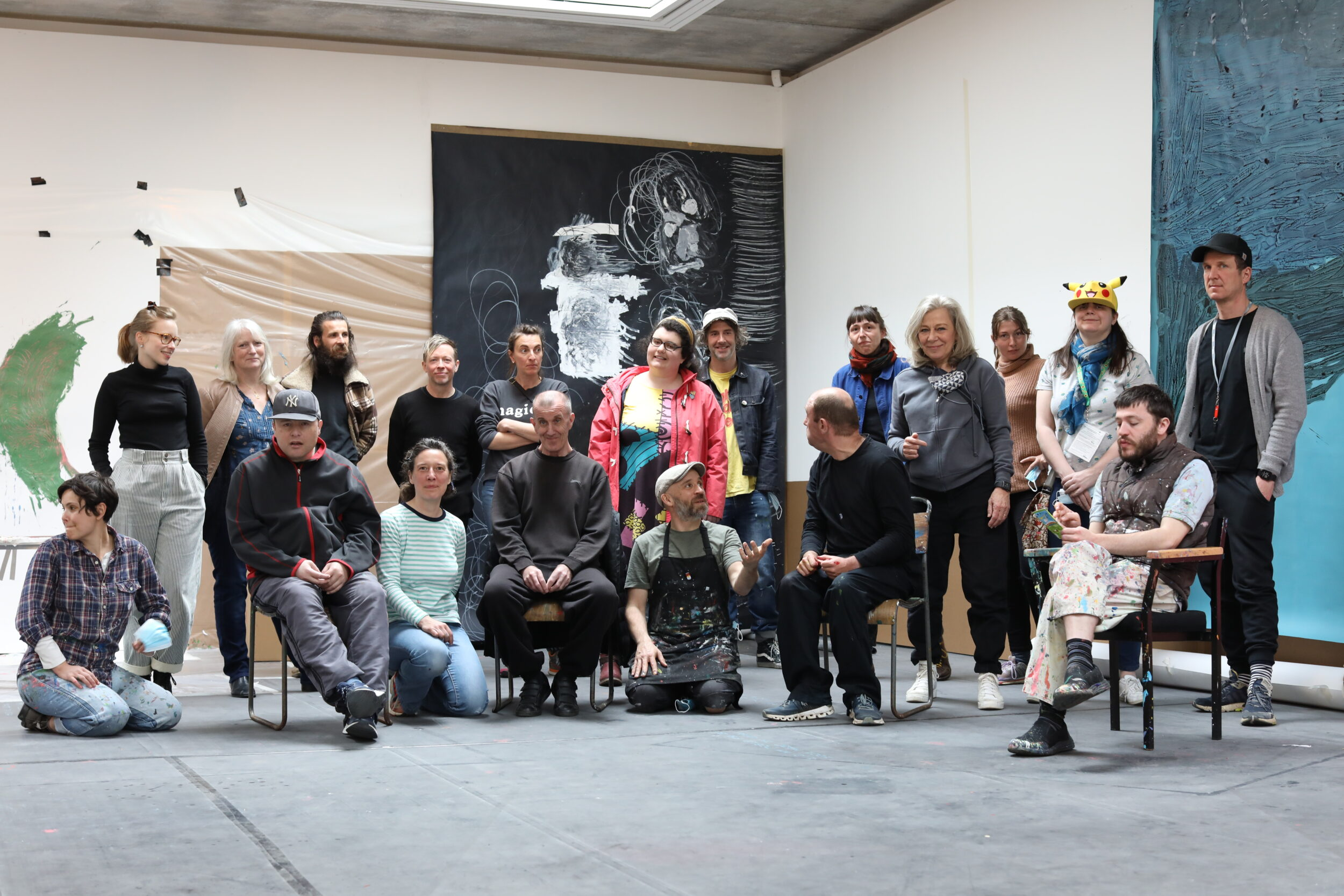 Part of the Project Art Works Collective, Hastings Contemporary, May 2021