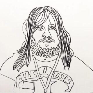 Jack Goldsmith Self Portrait